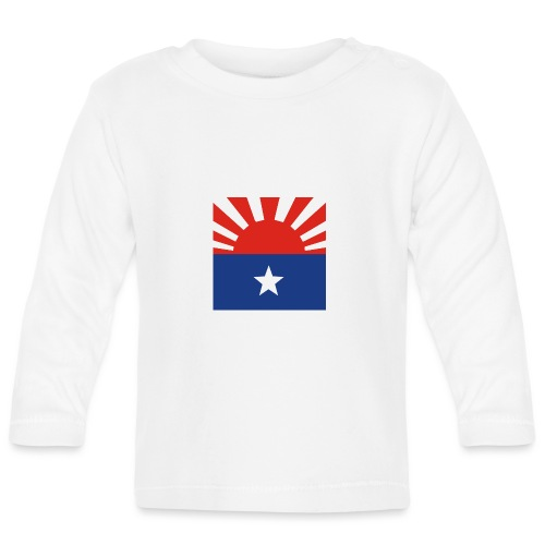 Karen flagga - Långärmad T-shirt baby