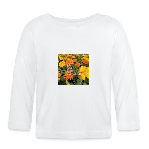 Säg att du älskar mig - Långärmad T-shirt baby