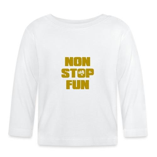 Non Stop Fun - Baby Langarmshirt