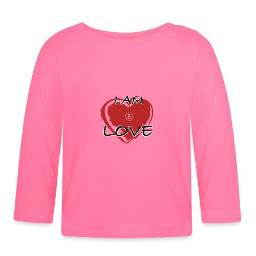 IM LOVE MaitriYoga - T-shirt manches longues Bébé