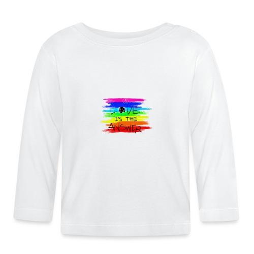 LoveIsTheAnswer MaitriYoga - T-shirt manches longues Bébé