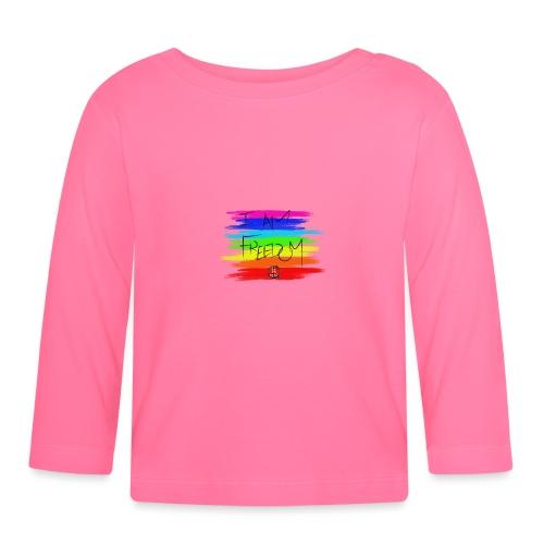 I AM FREEDOM MaitriYoga - T-shirt manches longues Bébé