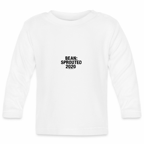 Bean Sprouted 2020 Black - Baby Long Sleeve T-Shirt