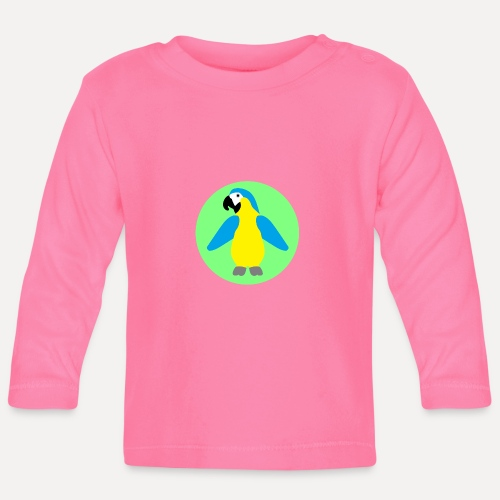 Yellow-breasted Macaw - Baby Long Sleeve T-Shirt