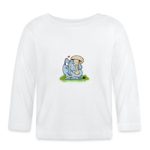 Svampofant - Långärmad T-shirt baby