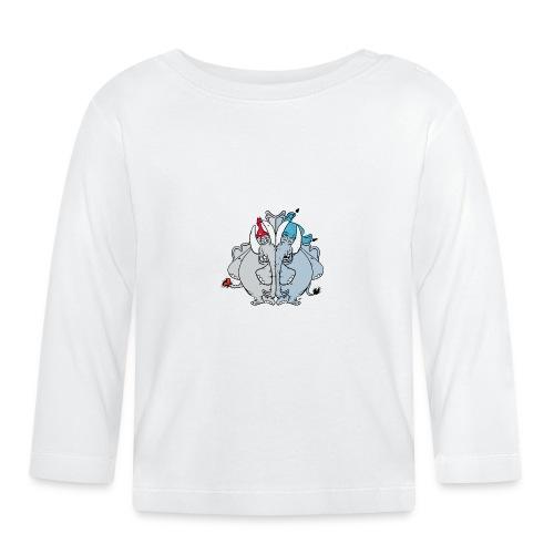 Bästa vänner - Långärmad T-shirt baby