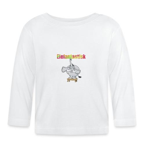Elefantastisk fant - Långärmad T-shirt baby