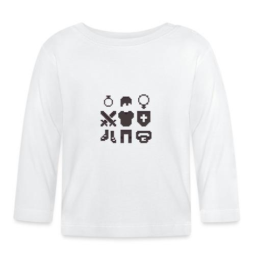 RPG Inventory Slots - Langærmet babyshirt