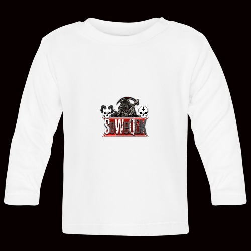 SoWeQDK Banner - Langærmet babyshirt
