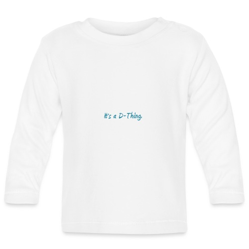DTWear - It`s a D-Thing - Blue / Blauw - T-shirt