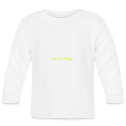 DTWear - It`s a D-Thing - Yellow / Geel - T-shirt
