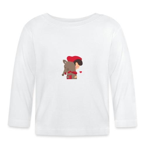 Abbracciccio-02 - Maglietta a manica lunga per bambini
