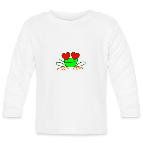 Frog in Love - Baby Long Sleeve T-Shirt