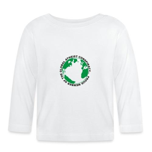 Global Atheist Conspiracy - Baby Long Sleeve T-Shirt