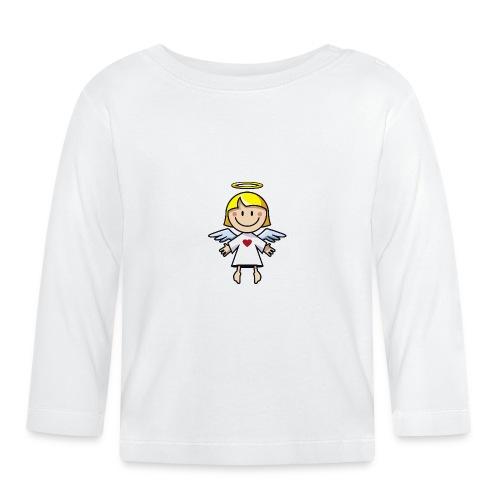 Ein Engel! - Baby Langarmshirt