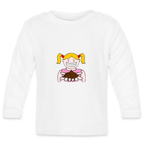 Trudy Walker Poo - Baby Long Sleeve T-Shirt