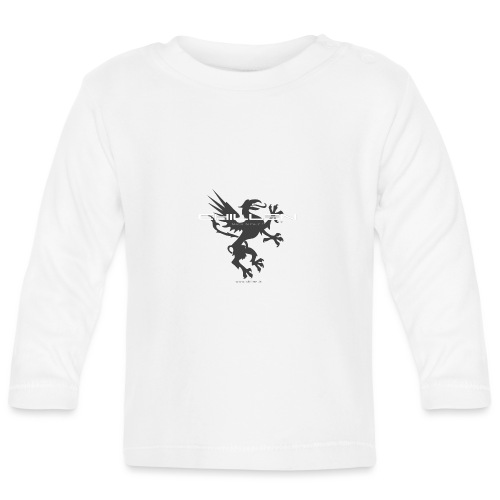 Chillen-1-dark - Baby Long Sleeve T-Shirt