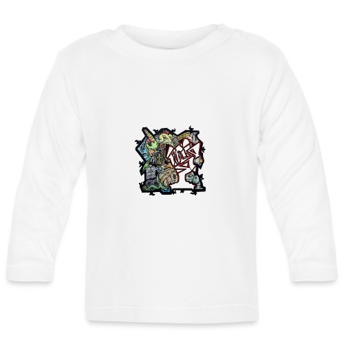 Transparent Connections - Baby Long Sleeve T-Shirt