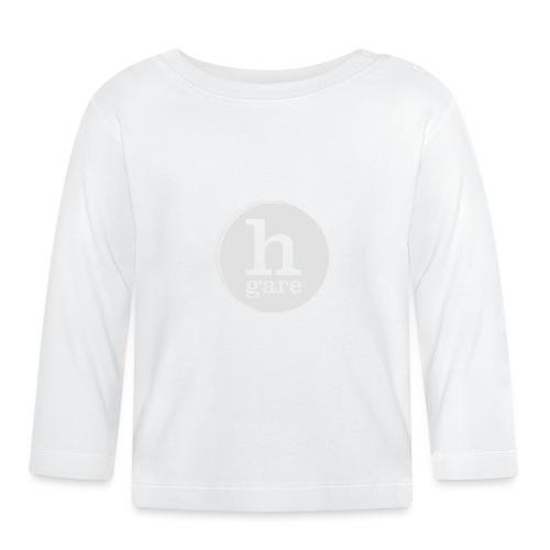HGARE LOGO TONDO PIENO GIALLO - Maglietta a manica lunga per bambini