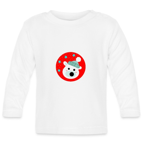 Winter bear - Baby Long Sleeve T-Shirt