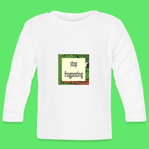Frogposter - Baby Long Sleeve T-Shirt