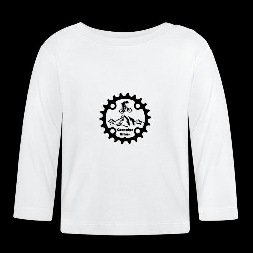 GrenzigeBiker Logo - Baby Langarmshirt