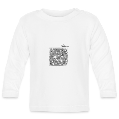 Transparent Beastie - Baby Long Sleeve T-Shirt