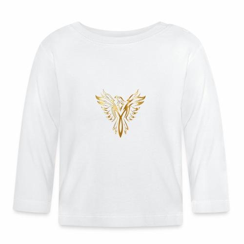 Złoty fenix - Koszulka niemowlęca z długim rękawem