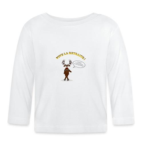 retraite de chasseur - T-shirt manches longues Bébé