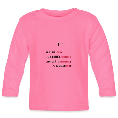 Problemes - T-shirt manches longues Bébé
