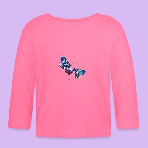 Coppia di farfalle - Maglietta a manica lunga per bambini