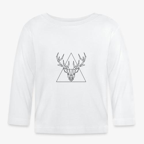 Hirsch Geometrisch - Baby Langarmshirt