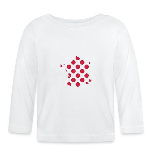 "Tour de France ""Bergwertung"" – transparent - Baby Langarmshirt"
