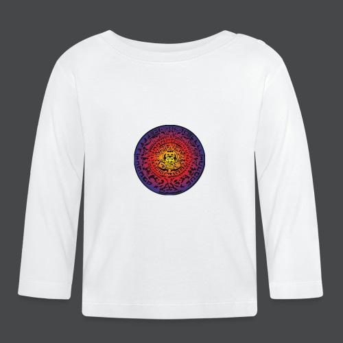 Maya-Kalender bunt - Baby Langarmshirt