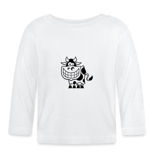 vl094a_kuh_1c - Baby Langarmshirt