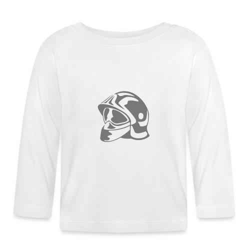 casque_pompier - T-shirt manches longues Bébé