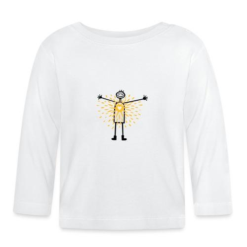 Sunny heart - Baby Langarmshirt