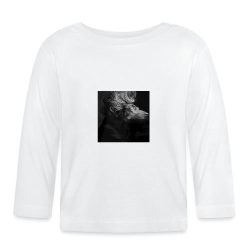 Mozart Jamnik - Koszulka niemowlęca z długim rękawem
