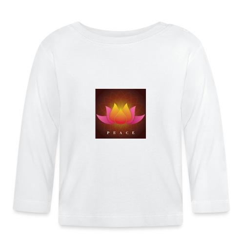 Peace Lotus - Baby Long Sleeve T-Shirt