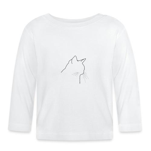 Katzenkopf - Baby Langarmshirt