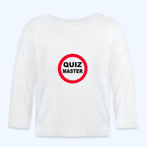 Quiz Master Stop Sign - Baby Long Sleeve T-Shirt