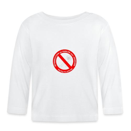 Noplay1 png - T-shirt manches longues Bébé