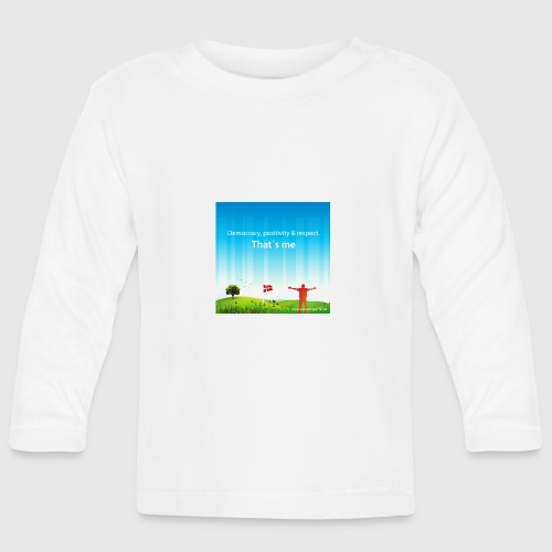 Rolling hills tshirt - Langærmet babyshirt