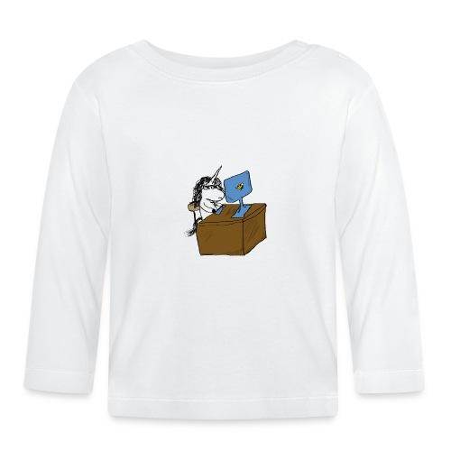 unicorno Godin - Maglietta a manica lunga per bambini
