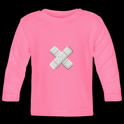 Xanax X Logo - Baby Langarmshirt