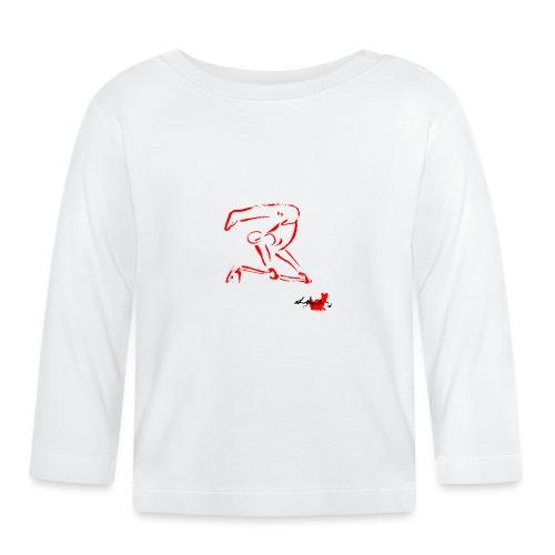 GINNASTA ALLA SBARRA ROSSO - Maglietta a manica lunga per bambini