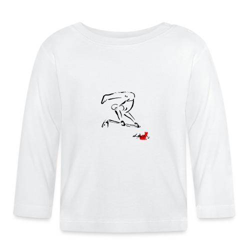 GINNASTA ALLA SBARRA NERO - Maglietta a manica lunga per bambini
