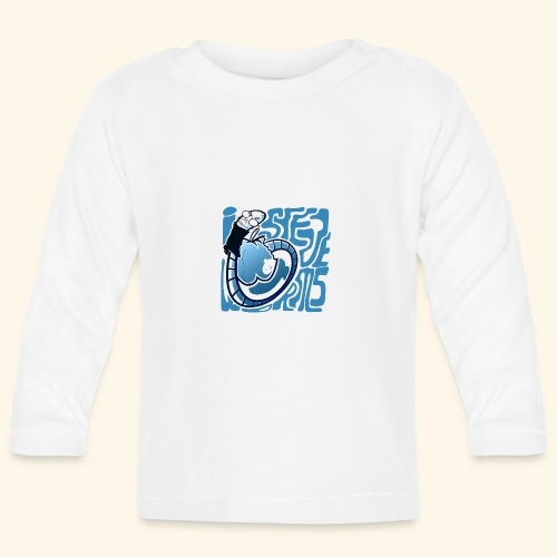 i STEVE WORMS - Baby Long Sleeve T-Shirt