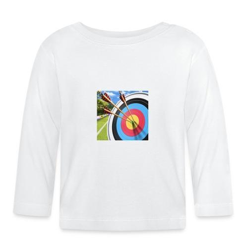 13544ACC 89C4 4278 B696 55956300753D - Langarmet baby-T-skjorte
