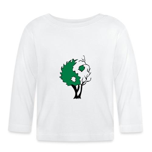 Yin Yang Arbre - T-shirt manches longues Bébé